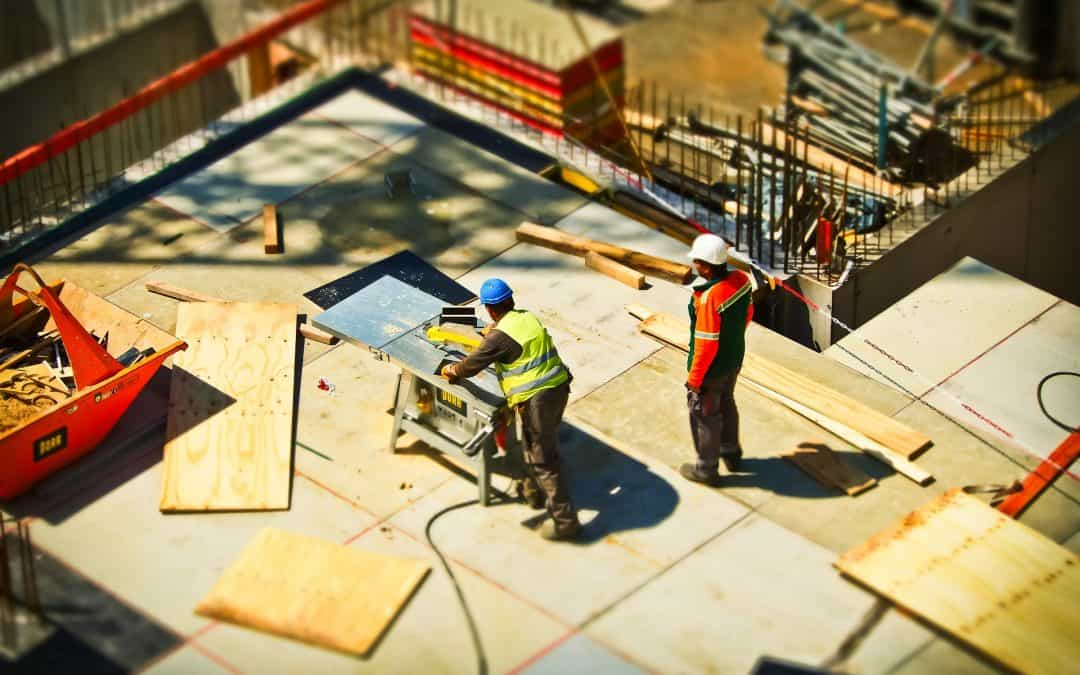 Jak zabezpieczyć teren budowy